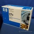 High Volume Black Toner for HP LaserJet Printers - 27x - NIB