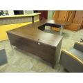 Espresso C / U Suite Desk w Bullet Run-Off
