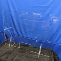 NEW Acrylic Plexiglass Counter Safety Shield with Opening