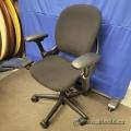 Steelcase Leap V1 Black Ergonomic Task Chair