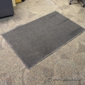 """Commercial Indoor Grey Entrance Floor Mat 60"""" x 30"""""""