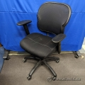 Back Mesh/Cloth Mid Back Rolling Task Chair w/ Arms