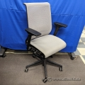 Steelcase Think Silver Mesh Back Adjustable Task Chair w/ Lumbar