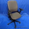 Steelcase Leap V2 Grey Ergonomic Task Chair w/ Soft Armpads