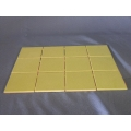 Ultra Modern  green 4 x4 tile meshed to 16 x 12
