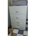 """HON 4 drawer Lateral Filing Cabinet 36"""""""