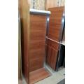 Real Wood Veneer P Top & Bullet C U Suite Desk with Bridge