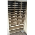 2 Door Enclosed Pigeon Hole / Message / Mail / Paper Sorter