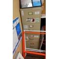 Beige 4 Drawer Vertical Filing Cabinet