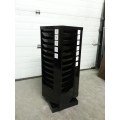 Black Metal Swivel Style Document Mail Sorter
