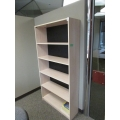 Blonde 72 in. 5 Shelf Book Case w Adjustable Shelves