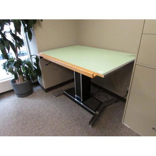 Mayline Futur Matic Powered Drafting Table, 60 X 38