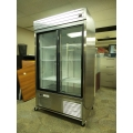 Habco 42 cu ft Stainless Restaurant Refrigerator Fridge Cooler