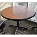 "Gunnar Autumn Maple 42"" Round Meeting Conference Table"