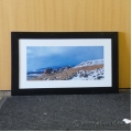 Framed Horse Trail Landscape Print Wall Decor