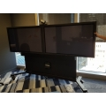 Tanberg Rolling Dual 60 inch Plasma Screen Teleconference System
