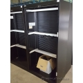 Clearance Black Roll Up Front Storage Filing Cabinet