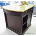 Espresso and Maple Kitchen Island Counter