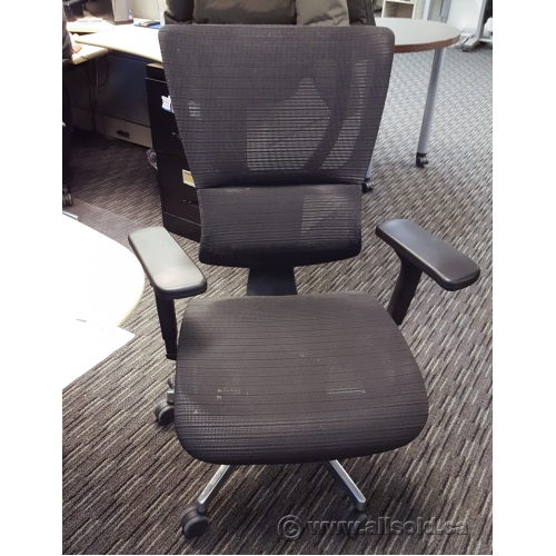Performance Fusion Cl 8521 Mark Black Mesh Task Chair Allsold