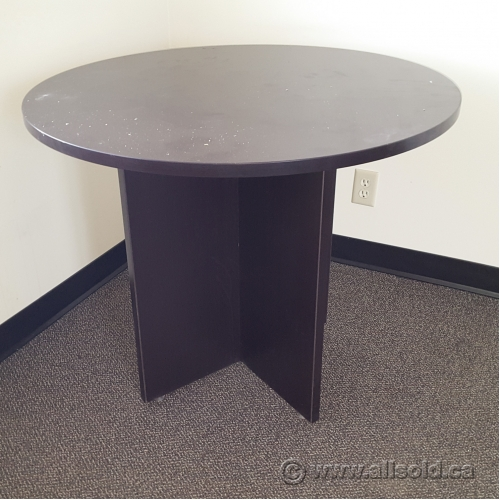 Espresso Round Meeting Conference Table Allsoldca Buy - 36 round conference table