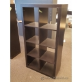IKEA Kallax Black 8 Compartment Bookcase Shelf