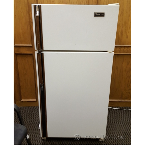 Whirlpool 12 cu ft Apartment Top Freezer Refrigerator Fridge ...