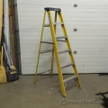 6 Ft. Fiberglass Step Ladder