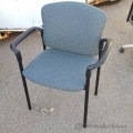 Blue Stackable Guest Chair