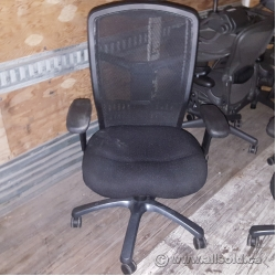 Black Mesh High Back Office Boardroom Chair