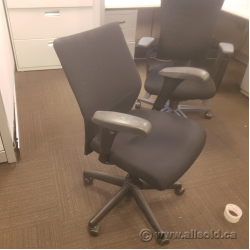 Keilhauer Tom Black Mid Back Task Chair w/o Arms