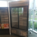 Habco SE42SXG Dual Glass Sliding Door Reach-In Fridge Cooler