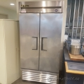 Stainless Steel True T-35F 2 Door Commercial Grade Freezer