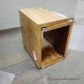 Birds Eye Maple Side End Table