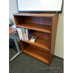 Maple 3 Shelf Bookcase