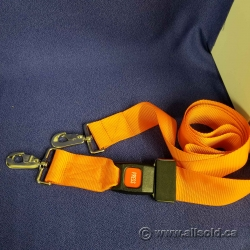 Stretcher Tie-Down Strap with Seat-Belt Release