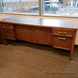 Wide 4 Drawer 2 Drawer Storage Credenza Cabinet