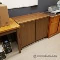 Brown 2 Door Storage Cabinet