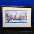 Calgary Tower by Loren Chabot Framed Print Under Glass