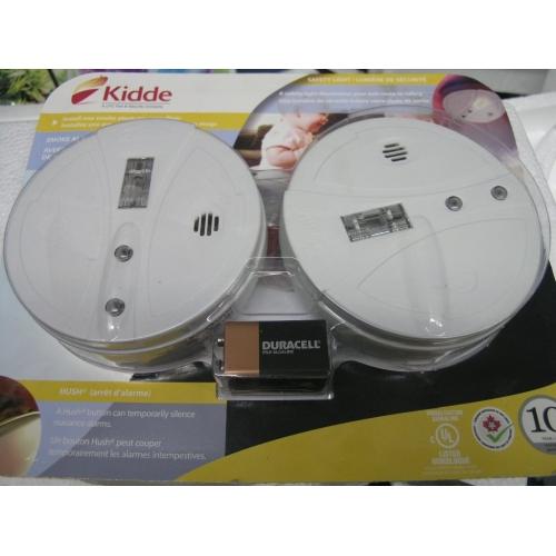 kidde smoke alarms with safety light and hush buy sell u. Black Bedroom Furniture Sets. Home Design Ideas
