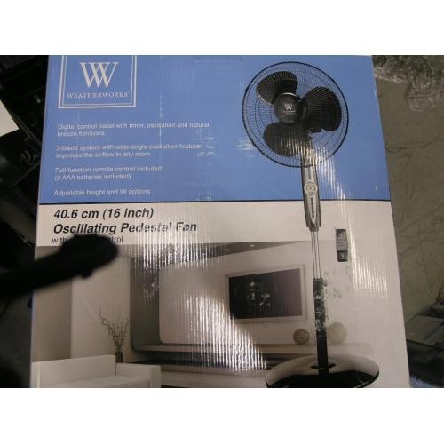Weather Works Digital Oscilation 3 Blade Fan Allsold Ca