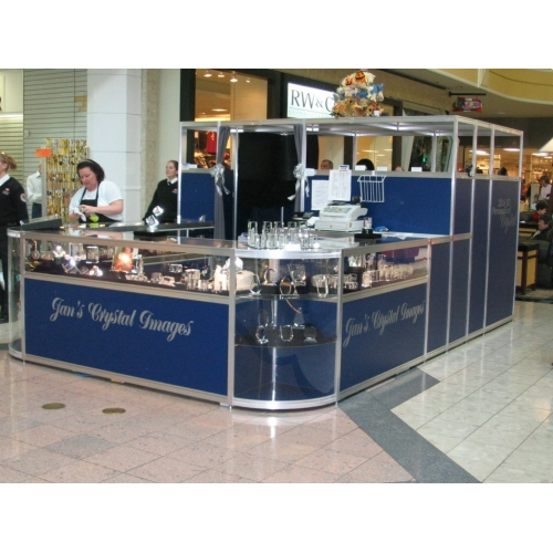 Trade Show Booth Kiosks : Kiosk trade show booth allsold buy sell used
