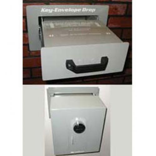 Keykeeper Xl Key Envelope Drop Box Safe In Wall Mounted