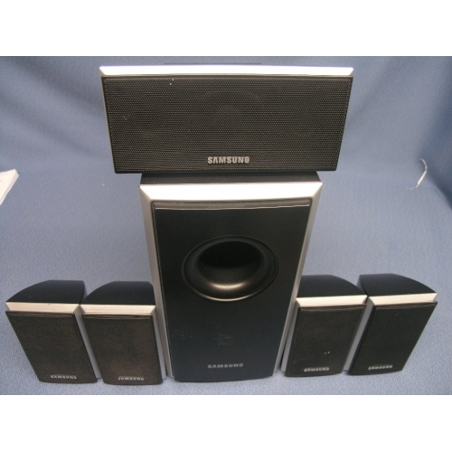 samsung surround sound system 5 1 speakers ps wq40 buy sell used office. Black Bedroom Furniture Sets. Home Design Ideas