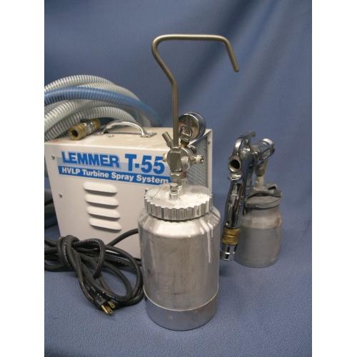 Lemmer Spray Systems Turbine Hvlp Sprayer T 55 Allsold