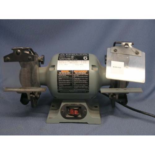Delta 23 681 6 Bench Grinder Dual Ended Buy Sell Used Office Furniture Calgary