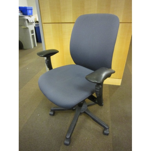 Teknion Office Task Chair Blue Adjustable 8 Way Gas Buy Sell Used Office