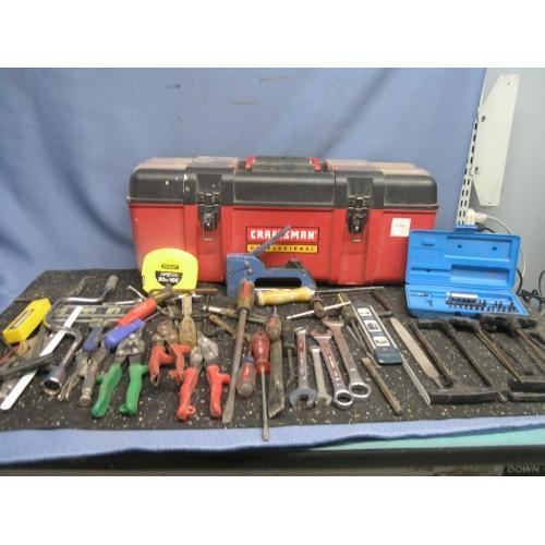 Craftsman Tool Box Assorted Tools Allsold Ca Buy