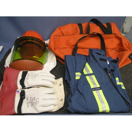 Electrical Safety Gear : Salisbury electrical safety equipment overalls shield