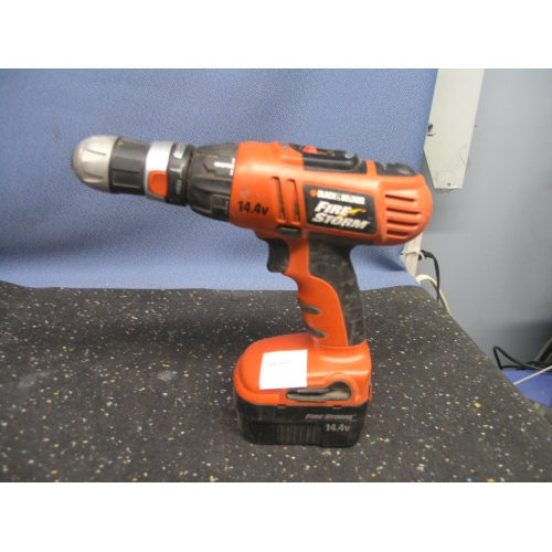 Black And Decker Firestorm 14 4 Drill No Charger Allsold