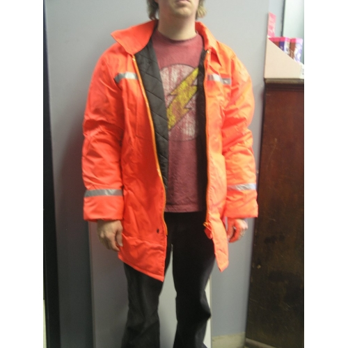 High Visibility Reflective Winter Gear Jacket All Canada